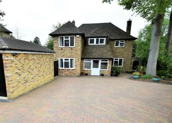 Thumbnail 4 bed detached house for sale in Maultway Close, Camberley, Surrey