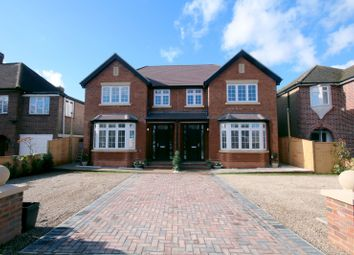 Thumbnail 4 bed semi-detached house for sale in Squires Bridge Road, Shepperton