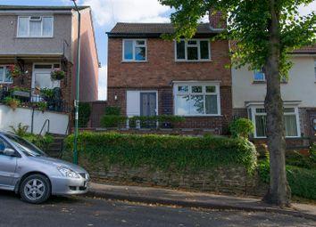 Thumbnail 3 bed semi-detached house for sale in Warren Avenue, Sherwood, Nottingham