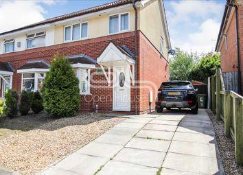 Thumbnail 3 bed semi-detached house for sale in Lune Road, Platt Bridge, Wigan