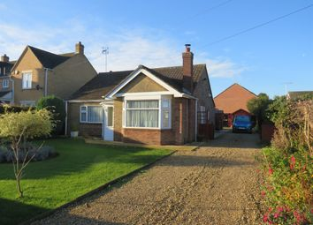 Thumbnail 3 bed detached bungalow for sale in Tinkers Drove, Wisbech