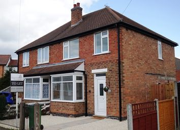 Thumbnail 3 bed semi-detached house to rent in Victoria Street, Narborough, Leicester