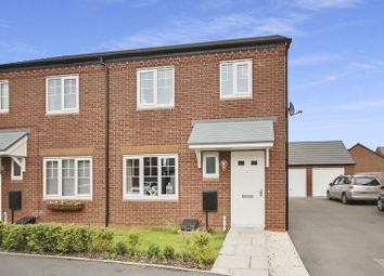 Thumbnail 3 bed semi-detached house for sale in Springfield Gardens, Gnosall, Stafford