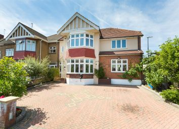 Thumbnail 7 bed end terrace house for sale in South View Drive, London