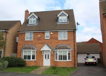 Thumbnail 5 bedroom detached house for sale in Shore View, Hampton Hargate, Peterborough