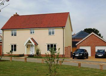Thumbnail 4 bed detached house for sale in Felgate Way, Grundisburgh, Woodbridge