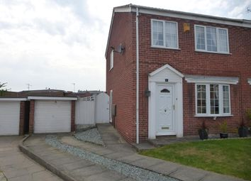 Thumbnail 3 bed semi-detached house to rent in Birkdale, Worksop