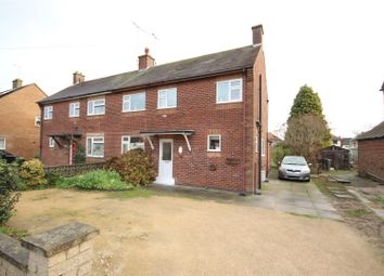 Thumbnail 3 bed semi-detached house for sale in Heathway, Hatton, Derby