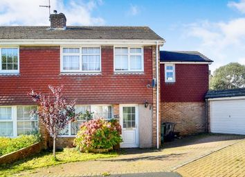 Thumbnail 4 bed semi-detached house for sale in Highview Avenue North, Patcham, Brighton, East Sussex
