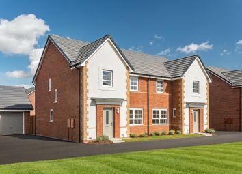 "Thumbnail 4 bed semi-detached house for sale in ""Kingsley"" at Burniston Close, Melksham"