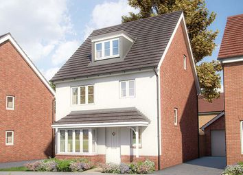 "Thumbnail 4 bed detached house for sale in ""The Willow"" at Appleton Way, Shinfield, Reading"