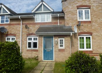 Thumbnail 2 bed terraced house to rent in Corfe Close, Corby