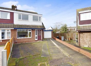 Thumbnail 3 bed semi-detached house for sale in Montrose Close, Shavington, Crewe