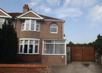 Thumbnail 3 bed semi-detached house for sale in Grange Avenue, Rhyl, Denbighshire