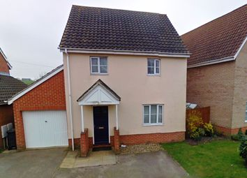 Thumbnail 3 bedroom detached house for sale in Combs Wood Drive, Stowmarket