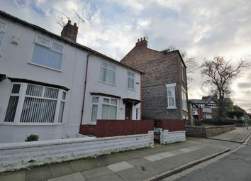 Thumbnail 3 bed end terrace house for sale in Hampstead Road, Liverpool