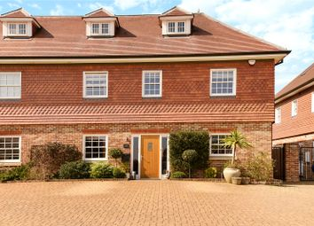 Thumbnail 4 bed semi-detached house for sale in Dovecote Mews, Breakspear Road North, Harefield, Middlesex