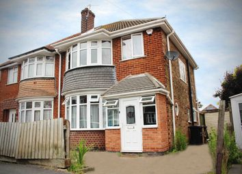 Thumbnail 3 bed semi-detached house for sale in Rosetree Avenue, Leicester