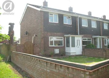 Thumbnail 2 bed end terrace house to rent in Eden Way, Bedford