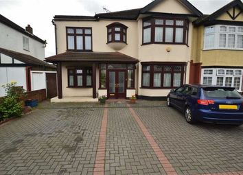 Thumbnail 4 bed semi-detached house for sale in Eastern Avenue, Ilford, Essex