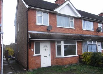 Thumbnail 3 bed terraced house to rent in Burleigh Road, Hinckley