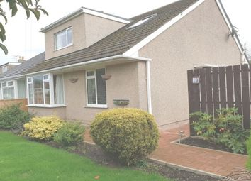 Thumbnail 3 bed semi-detached bungalow to rent in Meadow Drive, Bolton-Le-Sands