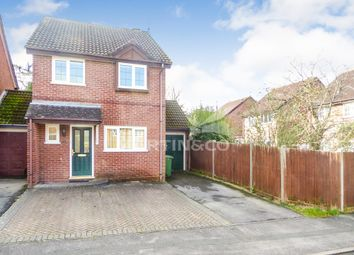 Thumbnail 3 bed link-detached house to rent in Webb Close, Chineham, Basingstoke