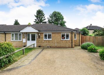 Thumbnail 2 bed semi-detached bungalow for sale in Manor Close, Wyton, Huntingdon