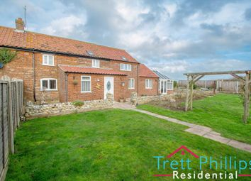 Thumbnail 3 bed cottage for sale in Ostend Road, Walcott, Norwich