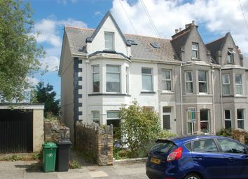Thumbnail 4 bed end terrace house for sale in Highfield Avenue, St Austell, Cornwall