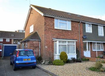 Thumbnail 2 bed end terrace house for sale in Princess Avenue, Tarring, Worthing, West Sussex