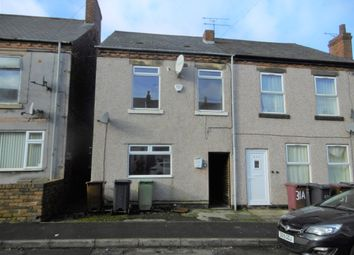 Thumbnail 3 bed end terrace house to rent in Hunloke Road, Holmewood, Chesterfield