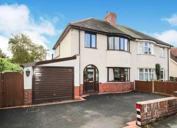 Thumbnail 3 bed semi-detached house for sale in Wolverley Road, Franche, Kidderminster