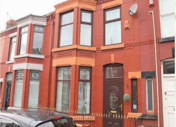 Thumbnail 4 bedroom shared accommodation to rent in Alderson Road, Wavertree, Liverpool