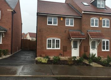 Thumbnail 3 bed semi-detached house to rent in Birch Lane, Glenfield