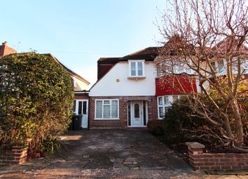 Thumbnail 4 bed semi-detached house to rent in Cardinal Crescent, New Malden