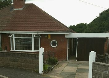 Thumbnail 1 bed bungalow to rent in Parkhead Crescent, Stoke-On-Trent