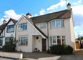 Thumbnail 3 bed semi-detached house for sale in Arcadian Gardens, Hadleigh, Benfleet