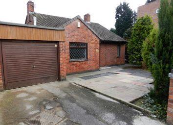 Thumbnail 4 bedroom detached bungalow for sale in Brighton Road, Alvaston, Derby