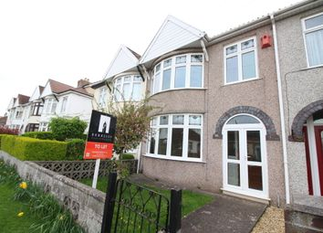 Thumbnail 3 bedroom terraced house to rent in Cleeve Park Road, Downend, Bristol