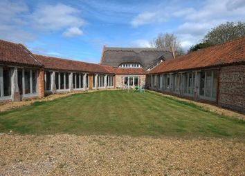 Thumbnail 5 bedroom barn conversion to rent in Old Hall Road, North Walsham