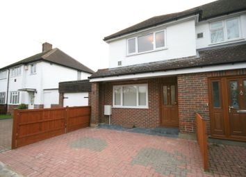 Thumbnail 2 bed semi-detached house to rent in The Hawthorns, Ewell, Epsom