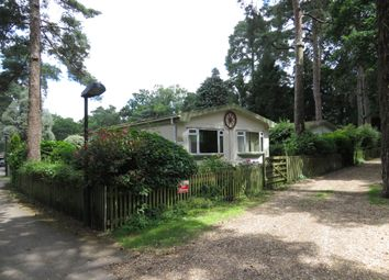 Thumbnail 2 bed detached bungalow for sale in Sandy Balls Holiday Centre, Godshill, Fordingbridge