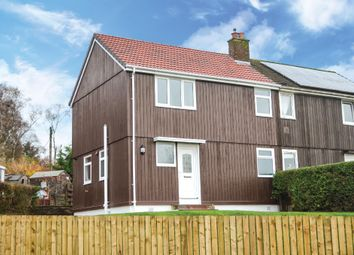Thumbnail 3 bed semi-detached house for sale in Cook Road, Alexandria, West Dunbartonshire