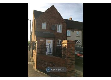 Thumbnail 3 bed end terrace house to rent in Waltheof Road, Sheffield