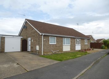 Thumbnail 2 bedroom semi-detached bungalow to rent in Meadow Way, Wimblington, March