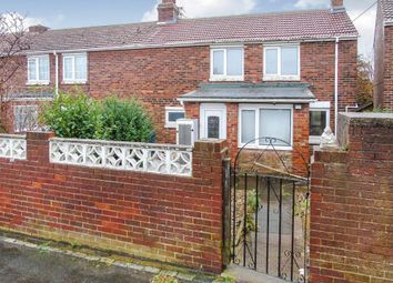 Thumbnail 3 bed semi-detached house for sale in George Avenue, Easington Colliery, Peterlee