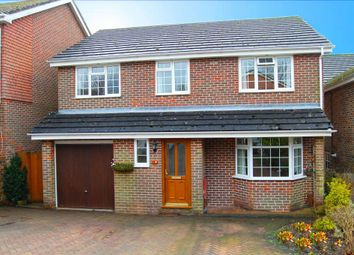 Thumbnail 5 bed detached house for sale in Eskdale Close, Clanfield, Waterlooville