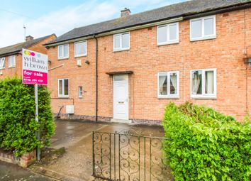 Thumbnail 3 bed semi-detached house for sale in Knowles Road, Leicester