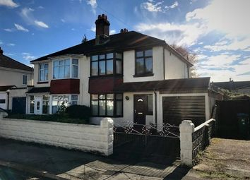 Thumbnail 3 bed semi-detached house for sale in Salcombe Road, Southampton